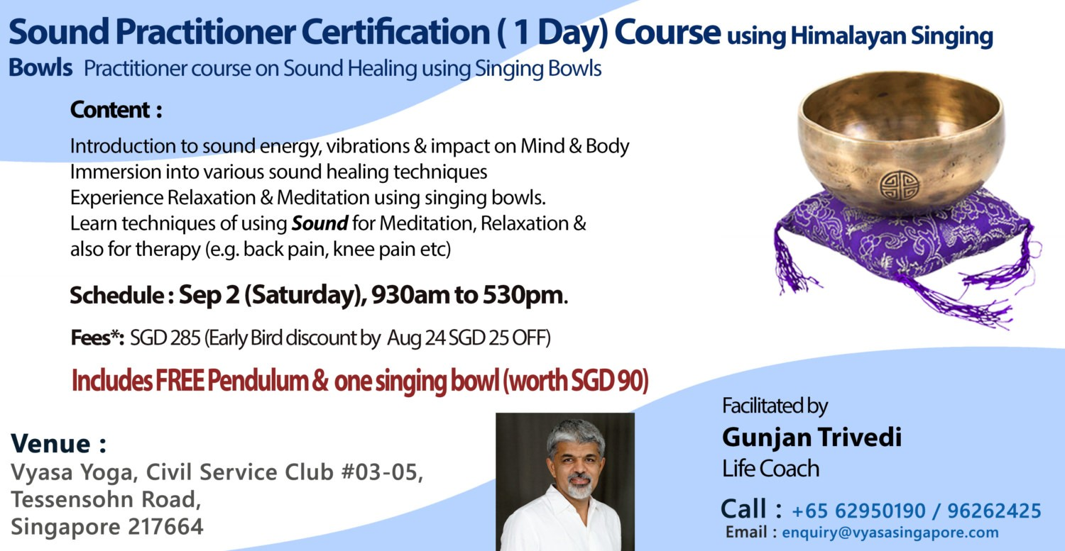 This Is First Of The Total Three Courses Leading To Sound Master Practitioner Nada Yoga 2 And Eventually Advanced 3