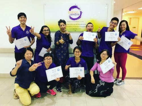 Discover Heal Tranform Training - Brahm Centre, Singapore