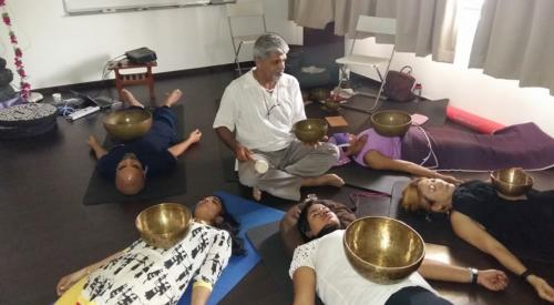 Experential sound healing workshop in singapore