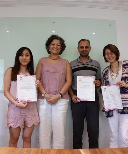 Hypnotherapy Level 2 Singapore batch