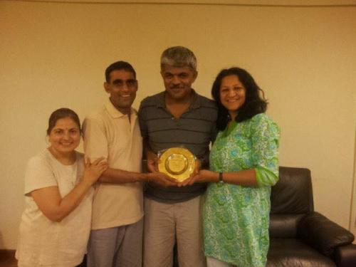 Master Manoj and Shivani ji - Diploma in  Yoga Therapy, Singapore SVYASA