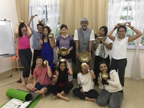 Naad Yoga SOund Healing workshop SIngapore 2019