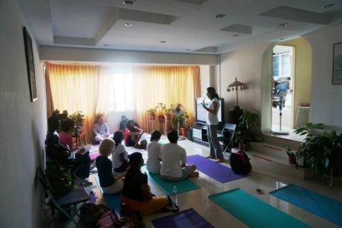 Yoga Nidra Workshop at SIngapore home