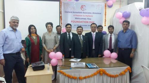 ICAI Fondation day talk on Stress Management using Mindbased Techniques, November 2016