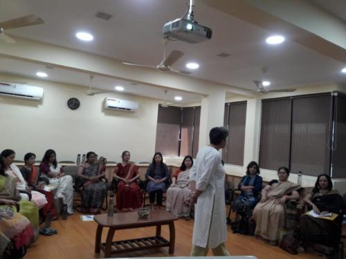 Stress Management Workshop for Women IRS officers