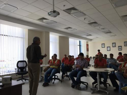 Stress Management workshop for Colgate Palmolive Plant Managers