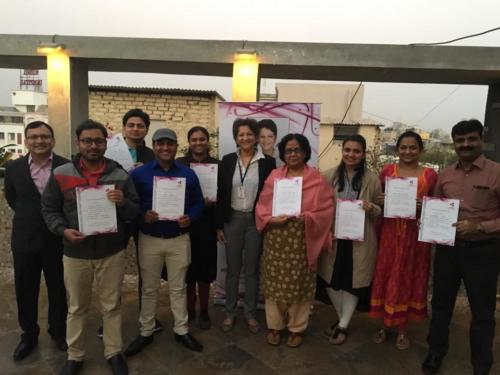 Level 1 of Clinical Hypnotherapy batch at Hotel Cosmopolitan
